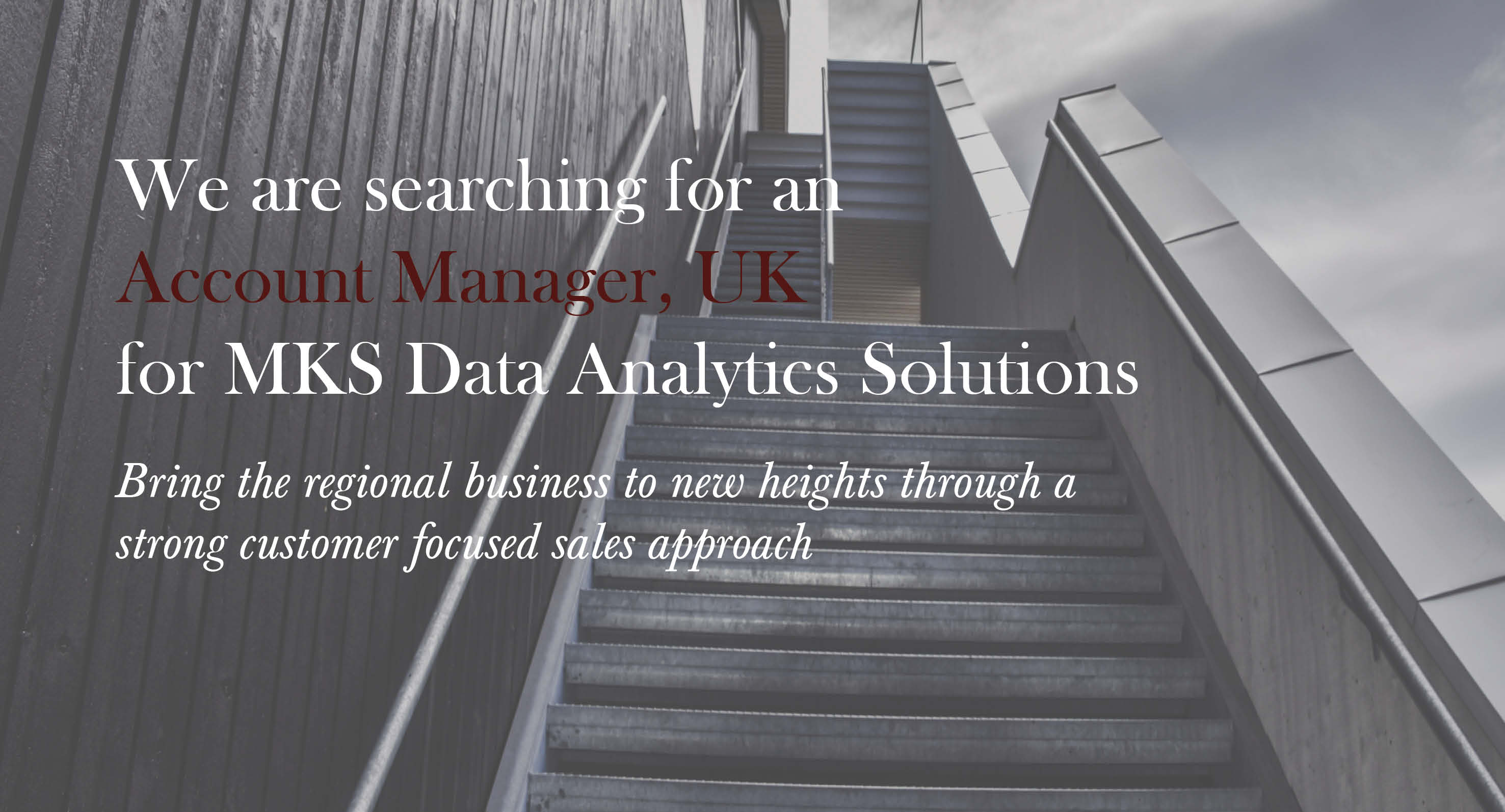 MKS, Account Manager UK