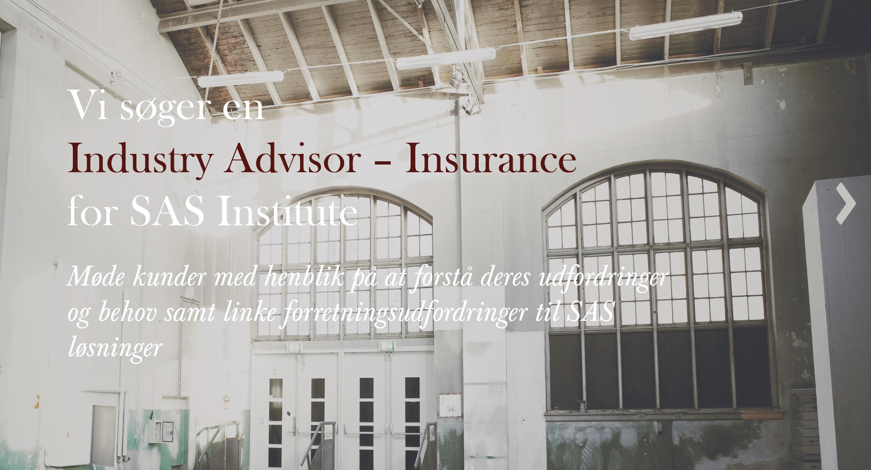 Industry Advisor - Insurance