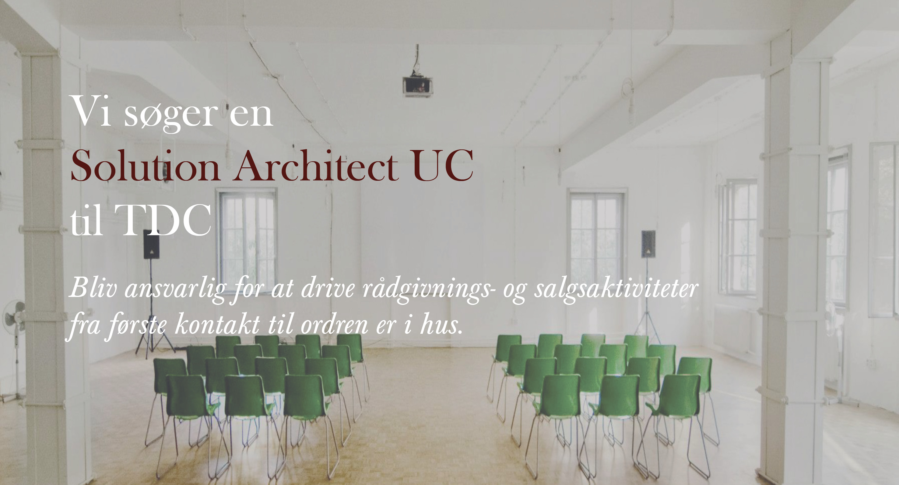Solution Architect UC -TDC